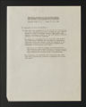 Background Information. Resolutions on interracial policy, 1946-1965. (Box 1, Folder 4)
