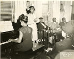 Mary McLeod Bethune at the Pyramid Club Art Exhibition