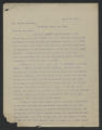 General Correspondence of the Director, 1912
