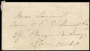 Letter to] Dear Anna [manuscript