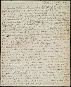 Letter from Hannah Webb, Dublin, [Ireland], to Maria Weston Chapman, 17th of 11th month 1845