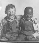 Afro-Americans - Stockton: two boys