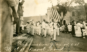 W. S. S. Naval Band, Ratification Day