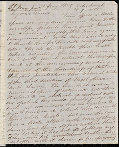 Letter from Eliza Wigham, Edinburgh, to Samuel May, 28.9.1855
