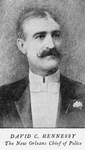 David C. Hennessy the New Orleans chief of police