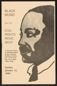 Program: Black Music and the Civil Rights Movement Black Music and the Civil Rights Movement Concert