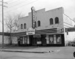Central Park Theatre in Birmingham, Alabama, where two members of the Ku Klux Klan of the Confederacy were shot.