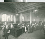 Oakland Free Library [picture] : Carnegie Building. Circulating Room, 14th and Grove