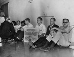Hunger strike sit-in at Board of Edcucation