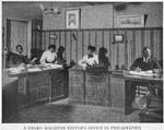 A Negro magazine editor's office in Philadelphia