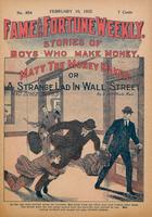 Matt the money maker, or, A strange lad in Wall Street