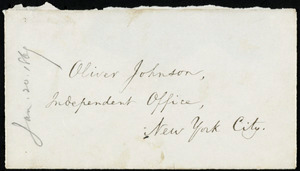 Letter from William Lloyd Garrison, Roxbury, [Mass.], to Oliver Johnson, June 20, 1869