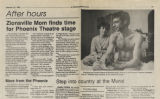 Zionsville mom finds time for Phoenix Theatre stage