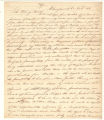 Letter from James F. McKee in Wilmington, North Carolina, to the police of Mobile, Alabama.