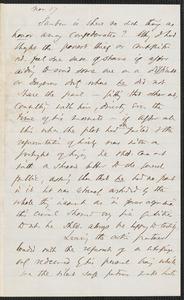 Thomas Wentworth Higginson autograph letter to Franklin Benjamin Sanborn, 17 November [1859]