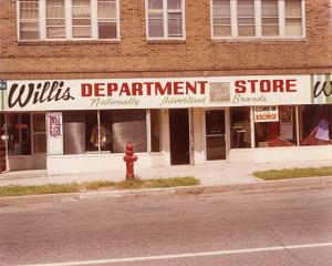 Willis Department Store, address unknown, Minneapolis