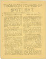 Thomson Township Spotlight, Volume 3, Number 5, Thomson High School, Esko, Minnesota