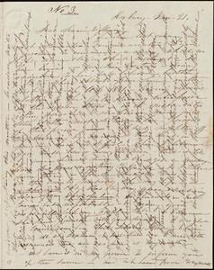 Letter from Caroline Weston, Roxbury, [Mass.], to Maria Weston Chapman and Henry Grafton Chapman, Jan. 21, [1841]