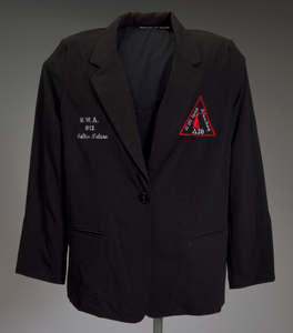Black Delta Sigma Theta jacket owned by Tobi Douglas A. Pulley