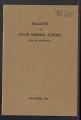 Bulletin of the State Normal School Duluth, Minnesota, Vol. III No. 3, November 1908