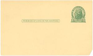 Associated Fisk Clubs postcard