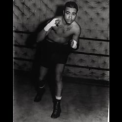 Boxer Charles Burley