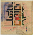 Map of downtown Chattanooga saloon district (1911)