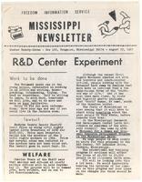 Mississippi Newsletter No. 27