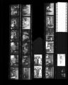 Set of negatives by Clinton Wright including Al's birthday party at Cove, Elder Parson Church, Cub Scout at Madison, 1965