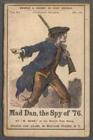 Mad Dan, the spy of 1776: a centennial story