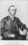 James H. A. Johnson, (In his early ministerial days) or in 1868
