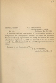 General orders. No. 160