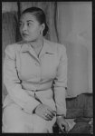 [Portrait of Billie Holiday (Lady Day)]