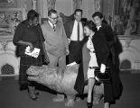 Selma Burke and Humbert Howard