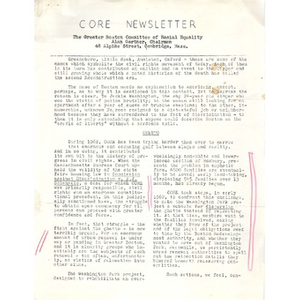 CORE Newsletter.