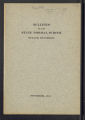 Bulletin of the State Normal School Duluth, Minnesota , Vol. VI No. 3, November 1911