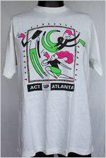 ACT UP Atlanta [t-shirt], circa 1980s