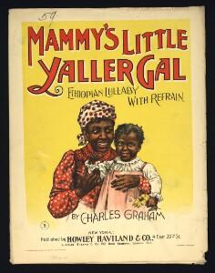 Mammy's little yaller girl : Ethiopian lullaby with refrain