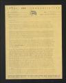 Local Armed Service Associations. Bremerton, Washington: Negro, 1943-1946. (Box 55, Folder 37)