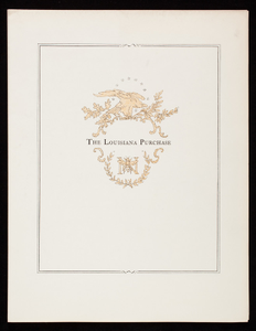 Louisiana Purchase, Crane's Business Papers, Crane & Co., Dalton, Mass.