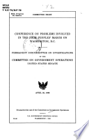 Conference on problems involved in the Poor Peoples' March on Washington, D.C. April 25, 1968