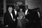 Black Emmy Award nominee dinner, Los Angeles, 1989