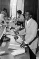 Arthur Shores presiding at a city council meeting at city hall in Birmingham, Alabama.