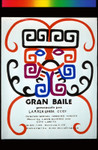 Gran Baile, Announcement Poster for
