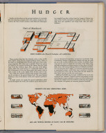 Hunger. (to accompany) Atlas Of Global Geography. By Erwin Raisz. Lectures in Cartography, Institute Of Geographical Exploration, Harvard University, Cambridge, Mass. ... Global Press Corporation, Publishers. New York, N.Y. Sole Distributors: Harper & Brothers, New York. (on verso) Copyright 1944, by Global Press Corporation. Atlas of Global Geography. By Erwin Raisz ... Global Press Corporation, Publishers. New York, N.Y. Sole Distributors: Harper & Brothers, New York. (on verso) Copyright 1944, by Global Press Corporation. Hunger