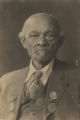 Mat Gray, former slave who fought for with his master for the Confederacy during the Civil War. [African American]