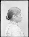 Side view of Indian maiden ca 1904