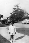 Albert Rucker as a child