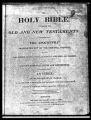Tucker - Boylan Family Bible Records