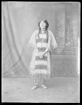 Full length view Indian girl. St Louis, Missouri 1904